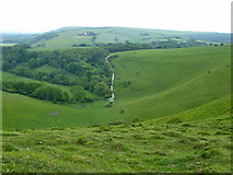 TQ2813 : Wellcombe Bottom by Robin Webster