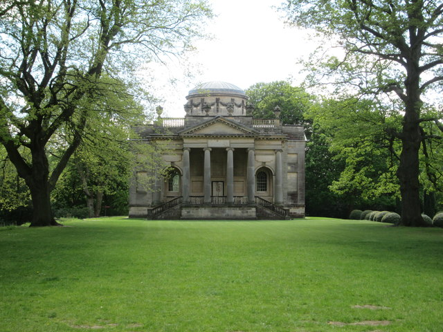 Gibside  Chapel  from  the  Avenue