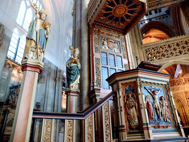 Canterbury Cathedral, Interior Detail