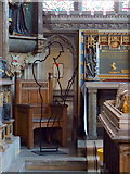 TR1557 : Canterbury Cathedral, Interior Detail by Gary Rogers