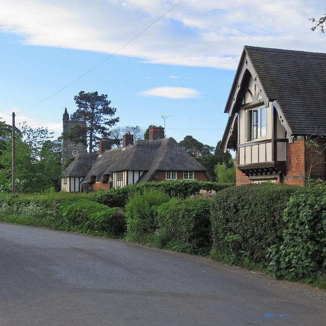 Osmaston: on Moor Lane