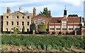 TF4509 : The former Wisbech Grammar School on South Brink by Richard Humphrey