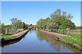 SK0319 : Aqueduct north of Rugeley in Staffordshire by Roger  Kidd
