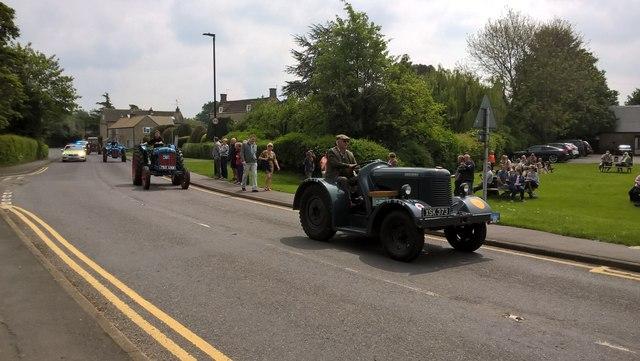 Charity tractor road run, Glinton - May 2019