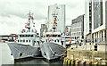 J3475 : French Navy ships, Belfast harbour - May 2019(2) by Albert Bridge