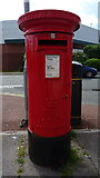 SJ4068 : Elizabeth II postbox on Mill Lane, Upton by JThomas