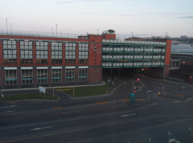The INTU Riverside Car Park