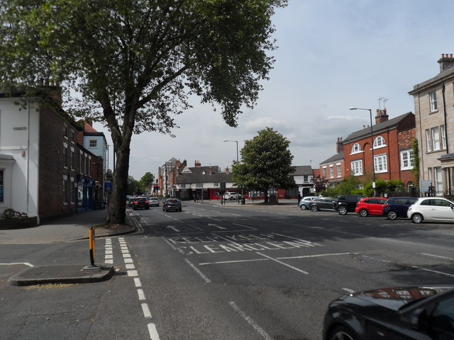 Ashbourne Road, junction Vernon Street, Derby