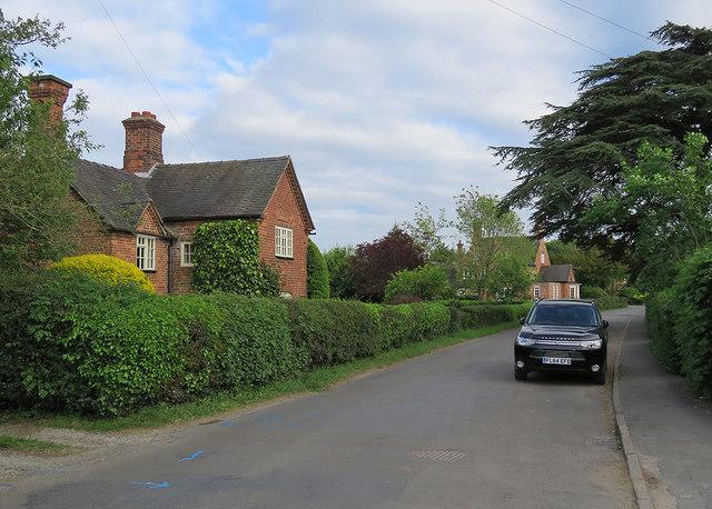 Osmaston: along Moor Lane