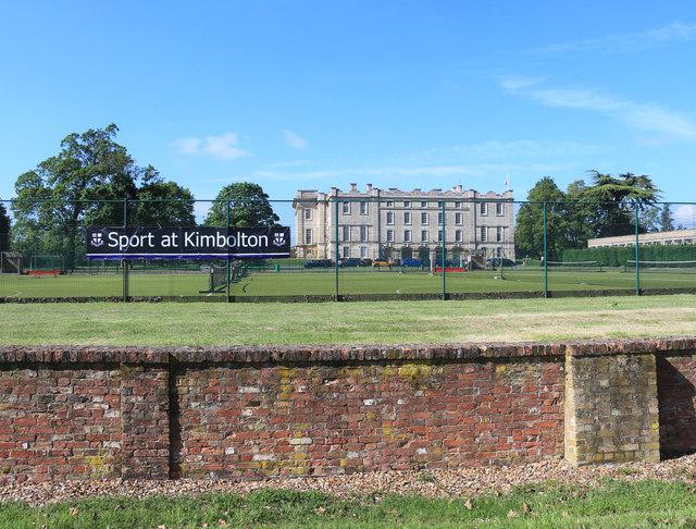 Sport at Kimbolton