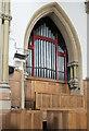 TF6741 : Organ, St Edmund's church, Hunstanton by Julian P Guffogg