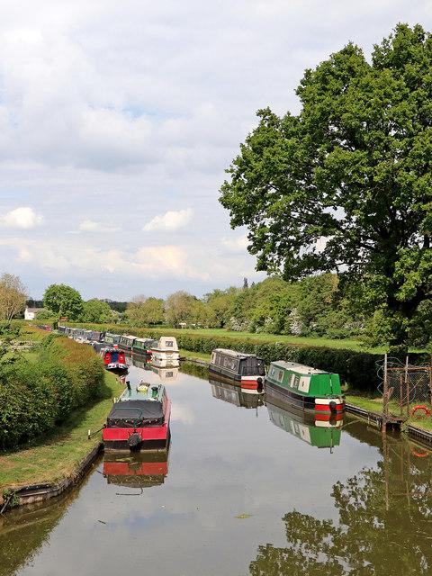 Wyrley and Essington Canal near Huddlesford Junction, Staffordshire