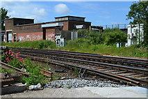 TQ7369 : Railway southwest of Strood station by David Martin