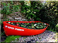 SX2553 : Red Super Sparrow, Hannafore Road, Looe by Jaggery
