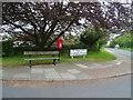 SJ2285 : Elizabeth II postbox on Melloncroft Drive, Caldy by JThomas