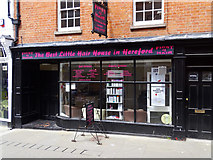 SO5140 : The Best Little Hair House in Hereford by Brian Robert Marshall