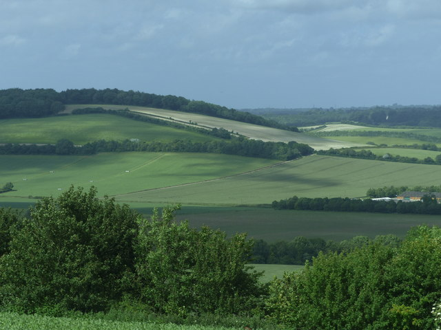 View from Teglease Down