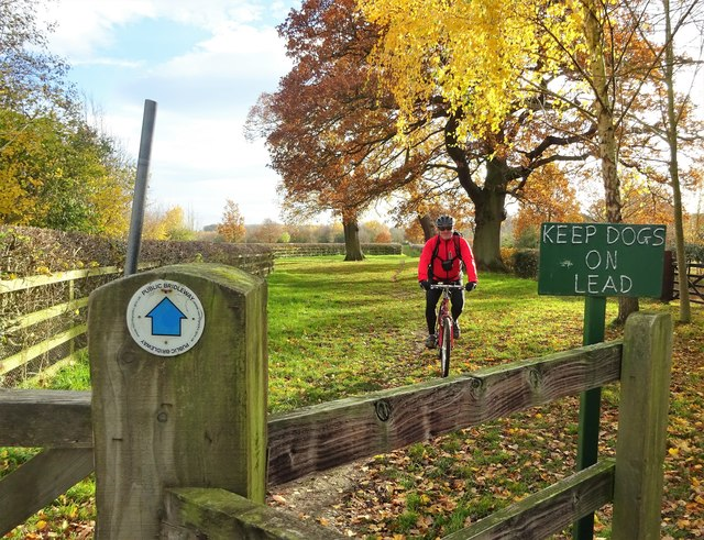 Bridleway off Studley Road