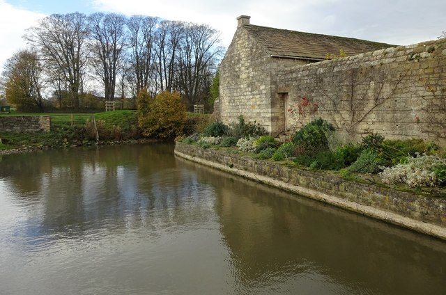 Moat, Markenfield Hall