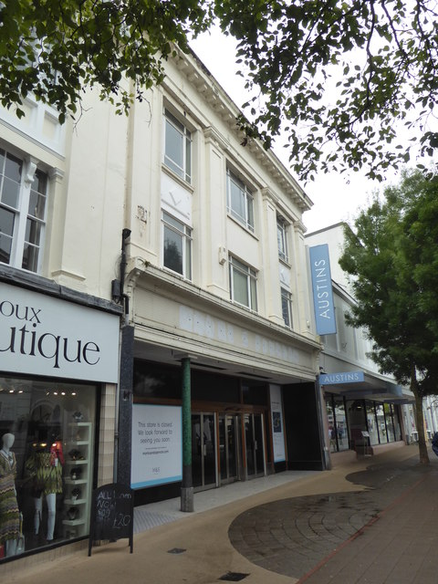Newton Abbot - closed M & S Outlet