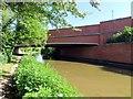 SP4814 : Oxford Canal runs under Langford Locks Bridge by Steve Daniels