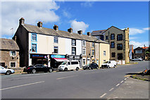 SD4161 : Shops on Main Street, Heysham Village by David Dixon