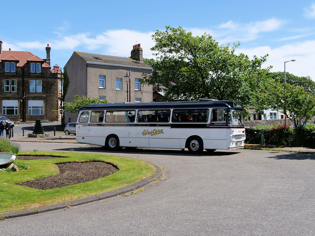 Heysham Village Bus turning Circle