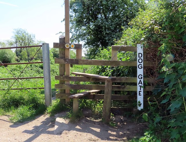 A stile on the footpath