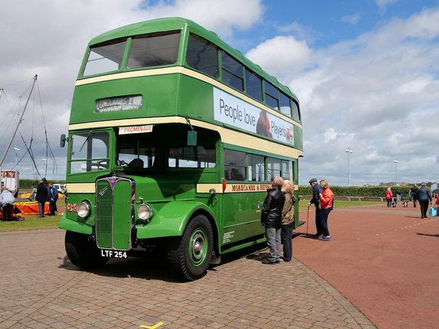 2019 Vintage Bus Day at Morecambe