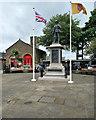 SD4970 : Carnforth War Memorial by David Dixon
