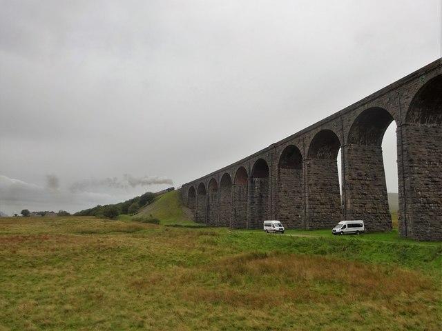 Steam on Ribblehead Viaduct