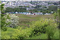 SO1911 : Vehicle park, Brynmawr by M J Roscoe
