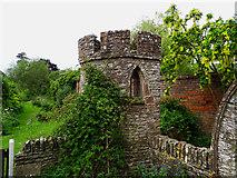 SO4465 : Mini castle, Croft Castle and Parkland, Yarpole near Leominster by Brian Robert Marshall