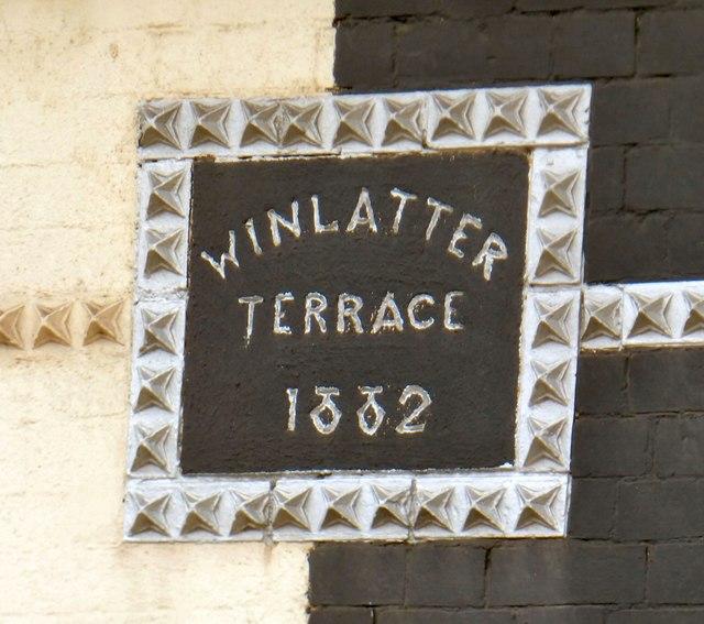 Winlatter Terrace 1882