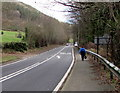 SO2416 : Walking from Powys into Monmouthshire east of Glangrwyney by Jaggery