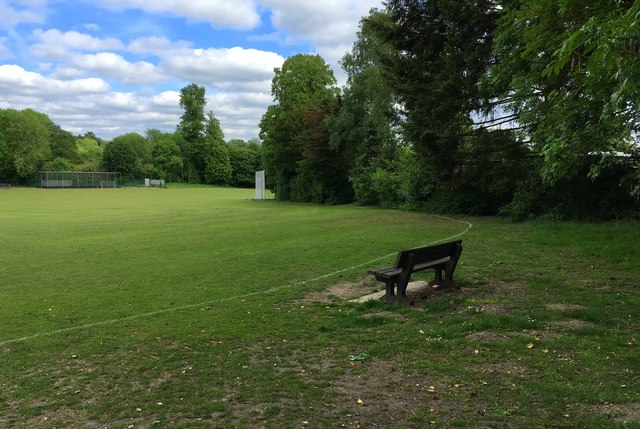 Bench on the boundary