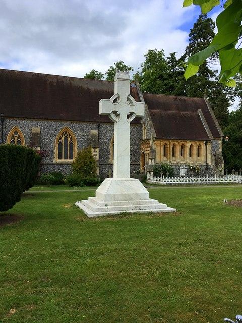 Cross in front of St Paul's