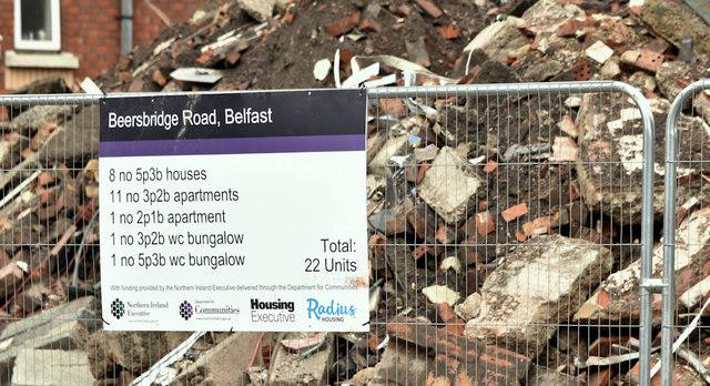 Proposed social housing, Beersbridge Road, Belfast - June 2019(2)
