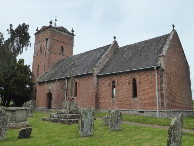 Church at Tyberton, Herefordshire