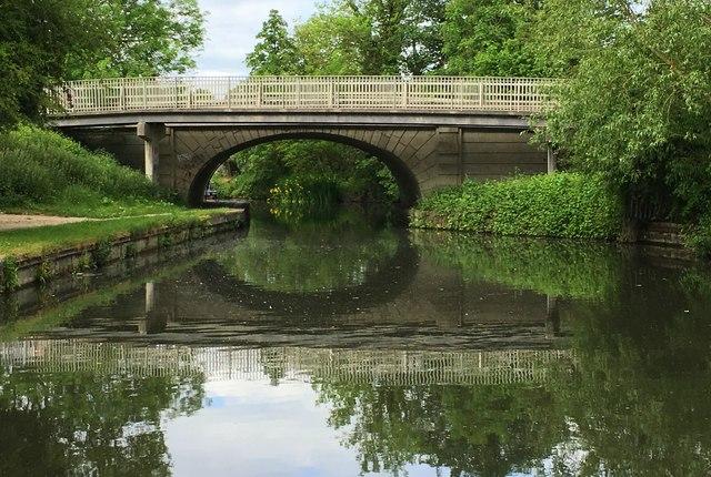A41 canal bridge
