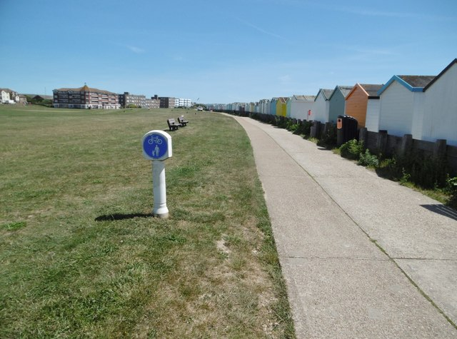 Lancing, shared path
