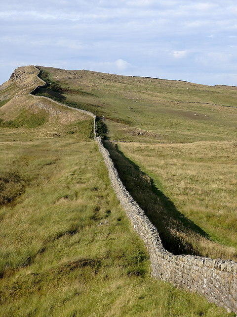 Hadrian's Wall north of King's Wicket