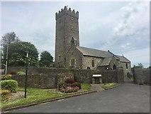 SN4201 : St Illtyd's Church, Pembrey by Alan Hughes