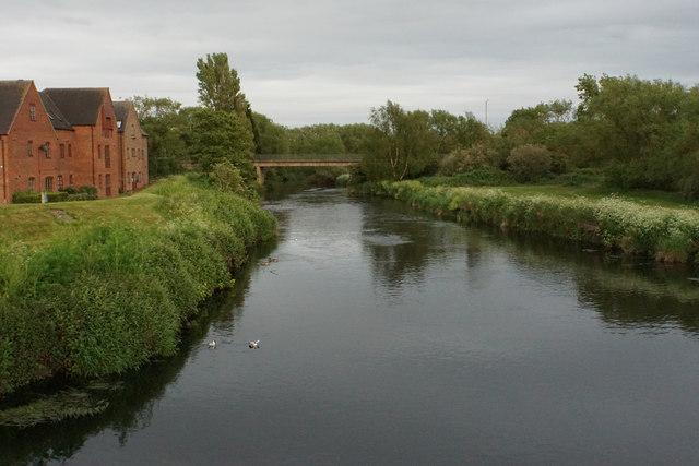 The River Tame near Kingsbury