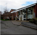 SO5923 : Entrance to Ross Community Hospital, Ross-on-Wye by Jaggery