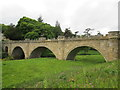 NU1813 : Lion  Bridge  over  the  River  Aln  at  Alnwick by Martin Dawes