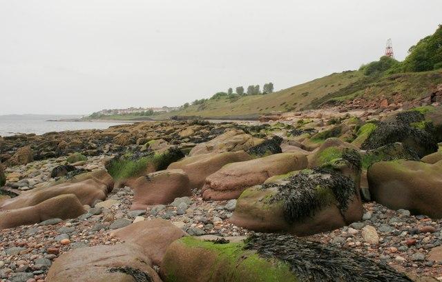 Rocky shore, Blair Point