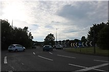 ST6673 : Deanery Road Roundabout, Warmley by David Howard