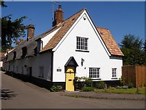 TL5646 : Linton houses [20] by Michael Dibb