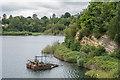 TQ2250 : Buckland Park Lake by Ian Capper
